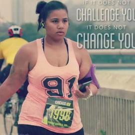 美国女孩靠跑步减了136斤你越跑越胖瘦身app源码图片