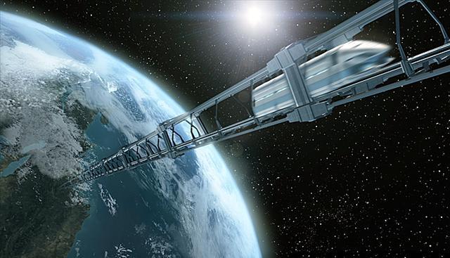 太空电梯!科幻小说或人类未来