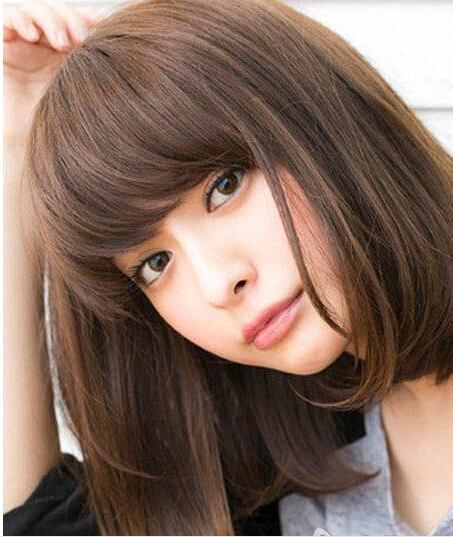 4款圆脸适合的短发发型推荐 ,圆上加圆其实更加活泼可爱