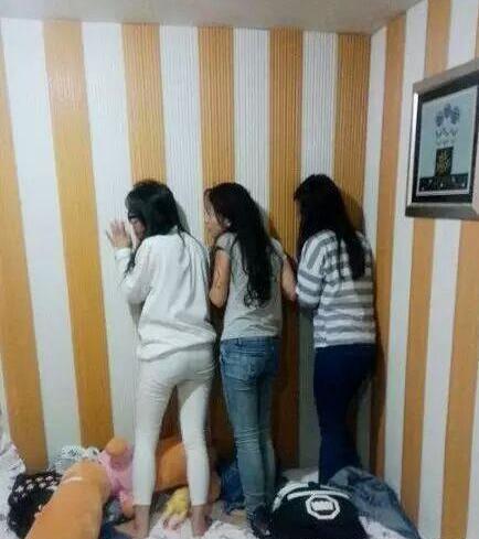 这3个妹子在小宾馆做的事,你上学的时候干过没?