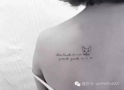 纹身的艺术和魅力,总有那么一刻让你骚动不安