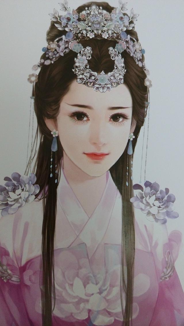 最美不过中国风,汉服手绘简直分分钟美炸!
