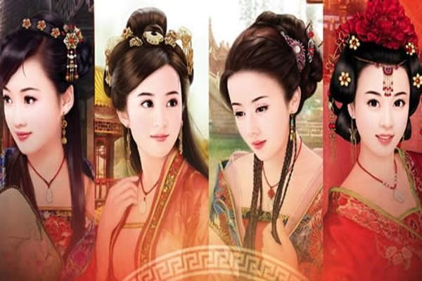 中国古代四大美女和四大美男在一起才更般配?