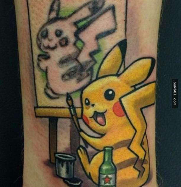 这手法完全不在一个层次,所以纹身需谨慎,纹不好就会很丑,实在要纹